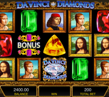 Da Vinci Diamonds Slot